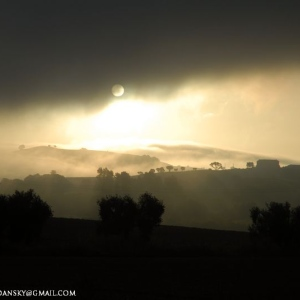 Nebbia e Alba