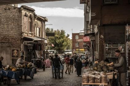 Una delle strade più belle del Fatih