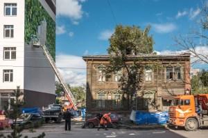 casa di legno in russia