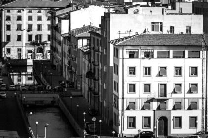 Il quartiere della nuova venezia, con i canali