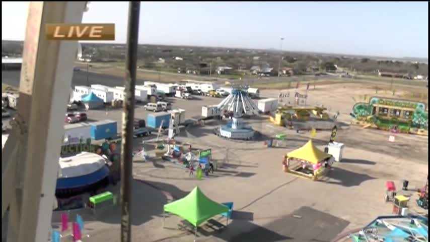 021717 Bird-s-Eye View of Rodeo Carnival- CV Live_07459344