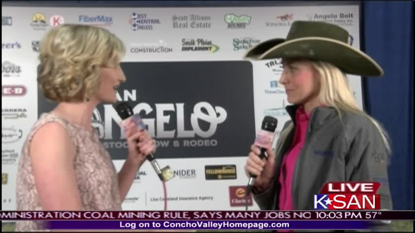 SASSR Interview with -1 Barrel Racer in the World_82953066