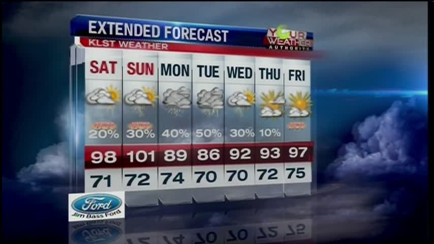 KLST 10 pm Weather - Friday August 4, 2017