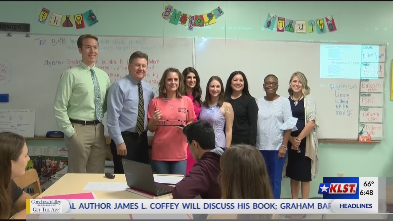 Teacher of the Week (Friday October 12, 2018)