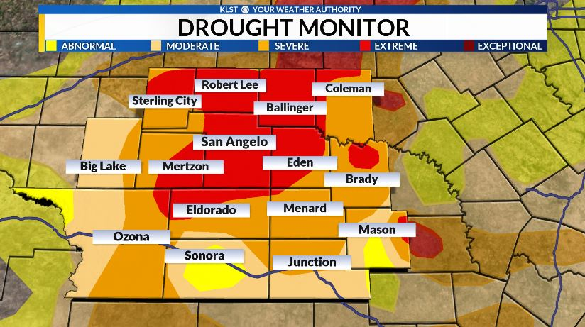 Todays Rain Helps Worsening Drought Conditions Across The