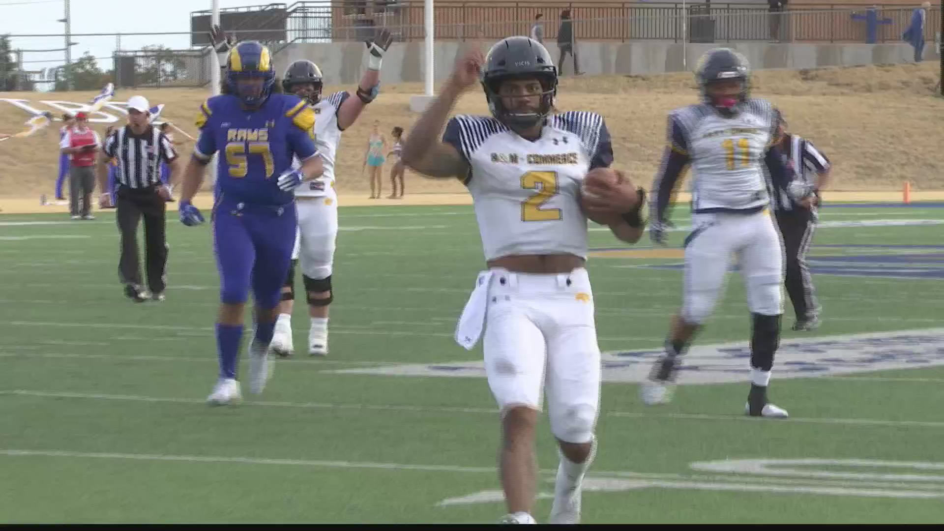 HIGHLIGHTS Angelo State Falls To No 23 Texas AM Commerce