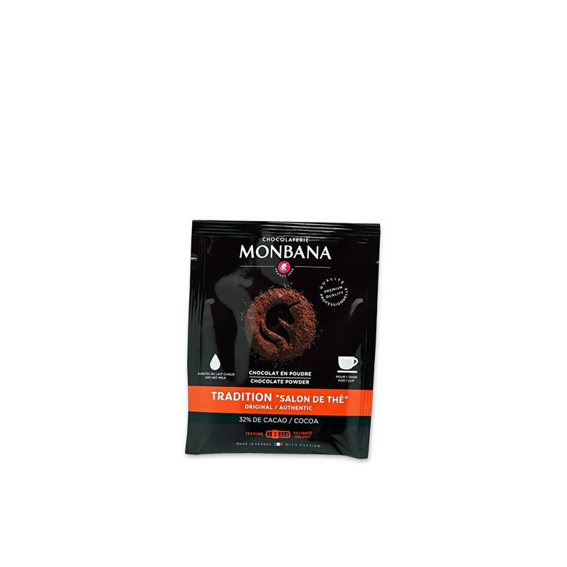 chocolat en poudre monbana authentique en sachet
