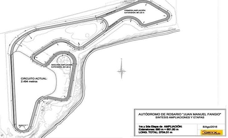 Anunciaron la remodelación del autódromo de Rosario