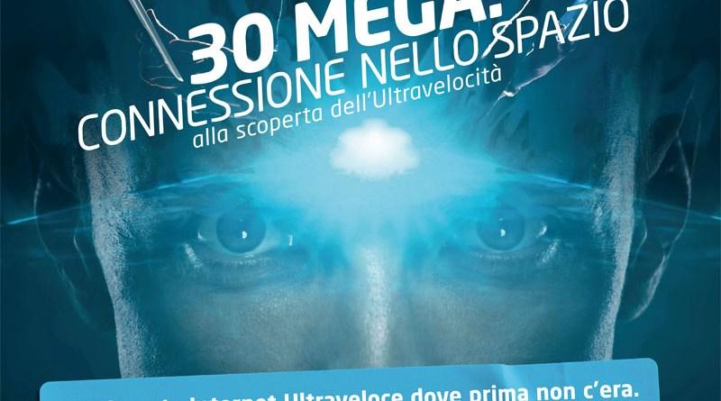 Eolo 30 mega: connessione nello spazio