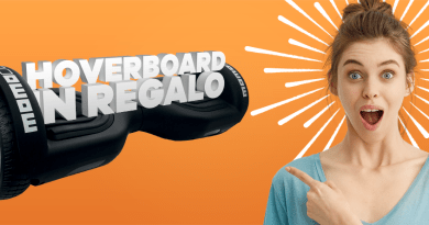 Hoverboard in regalo, solo da Expert