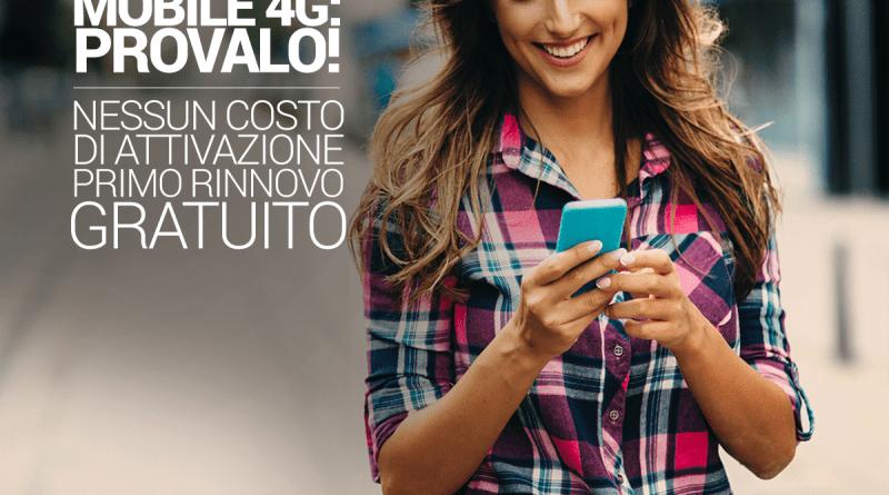 Fastweb try&buy, prova gratis il 4G fastweb