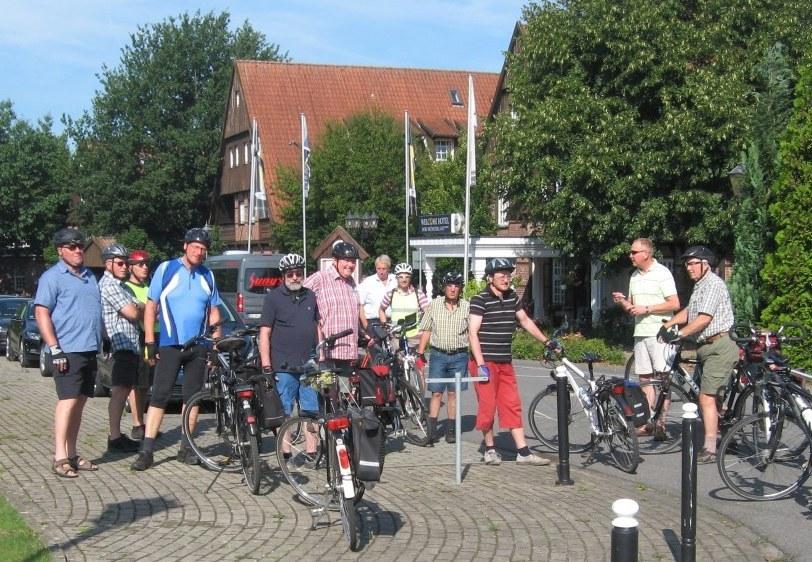 Radtour im August 2015 zum Dorf Münsterland nach Legden