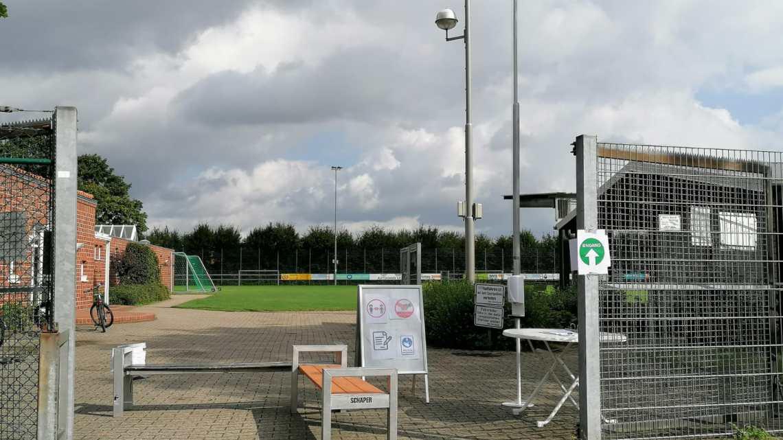 Maßnahmenkatalog für den Trainings-/Spielbetrieb zur Eindämmung des Infektionsrisikos in der Fußballabteilung -Hygienekonzept – gültig ab 22.08.2020