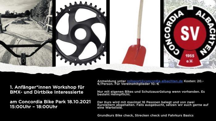 AnfängerInnen Workshop BMX- und Dirtbike
