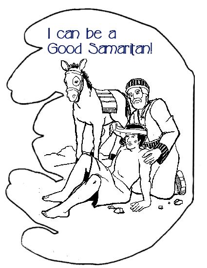 Good Samaritan Helping Hands Book