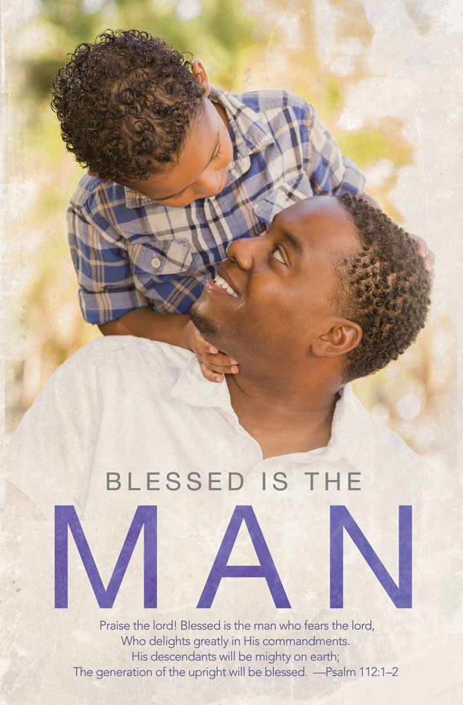 Church Bulletin 11  Fathers Day  Blessed is the Man