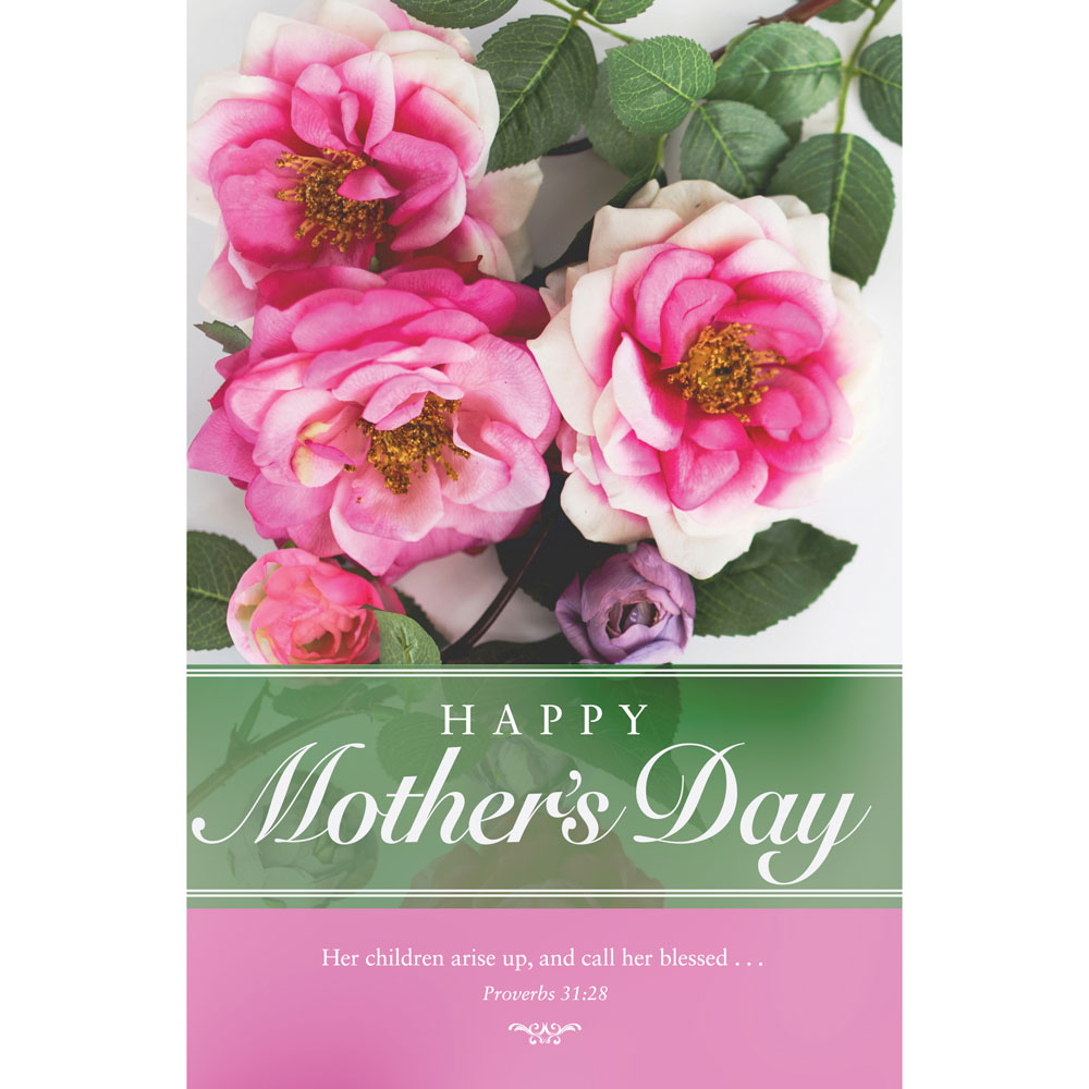 Church Bulletin 11  Mothers Day Pack of 100