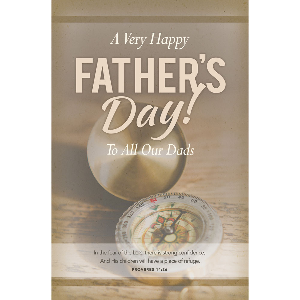 Church Bulletin 11  Fathers Day Pack of 100