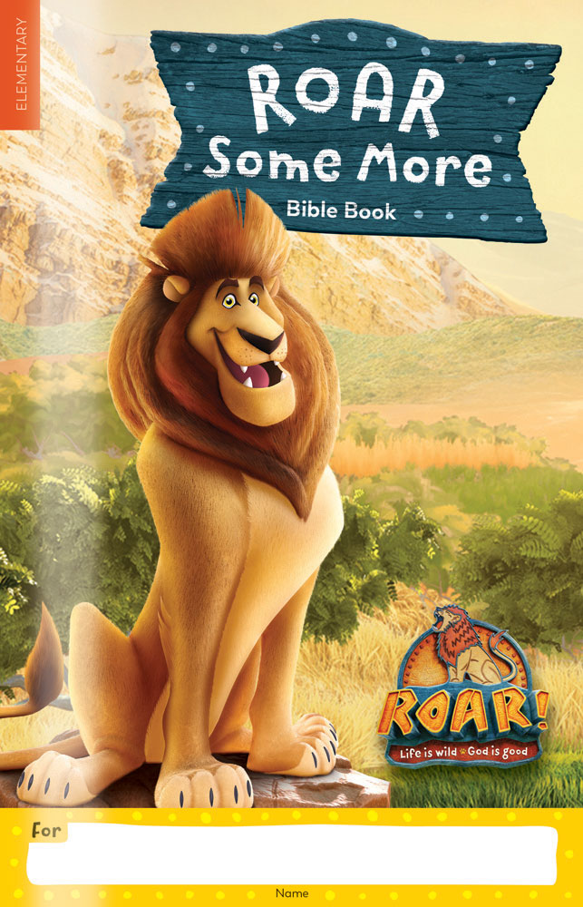 Roar Some More Bible Book one per student  Roar VBS by