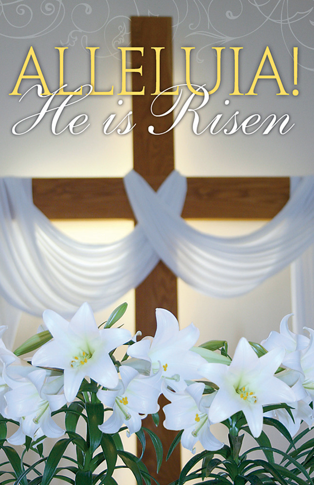 Church Bulletin 11  Easter  Alleluia Pack of 50