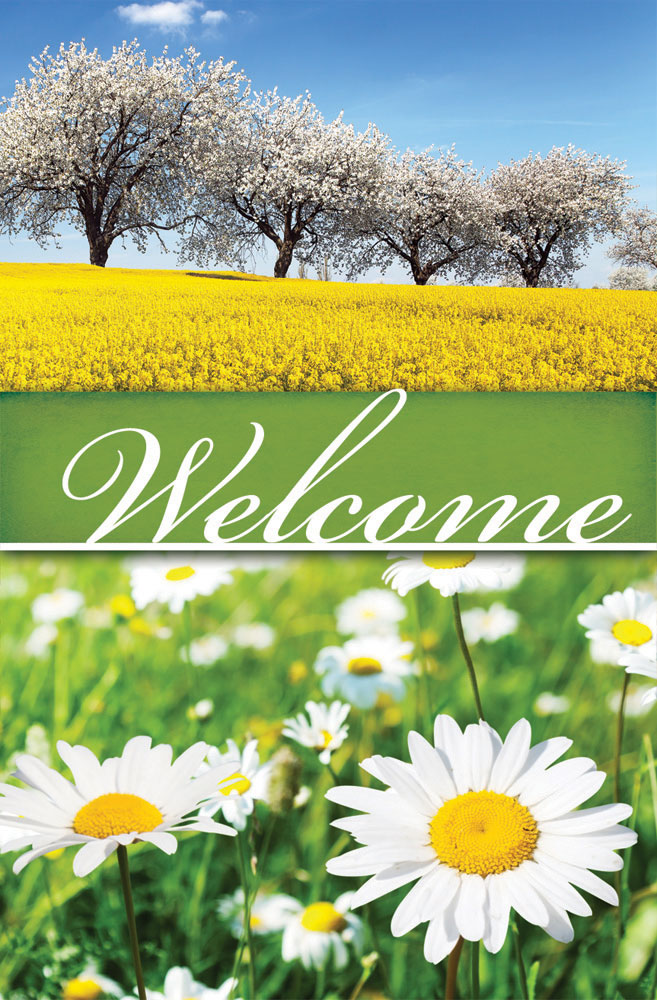 Church Bulletin 11  Inspirational  Praise  Spring Welcome Pack of 100