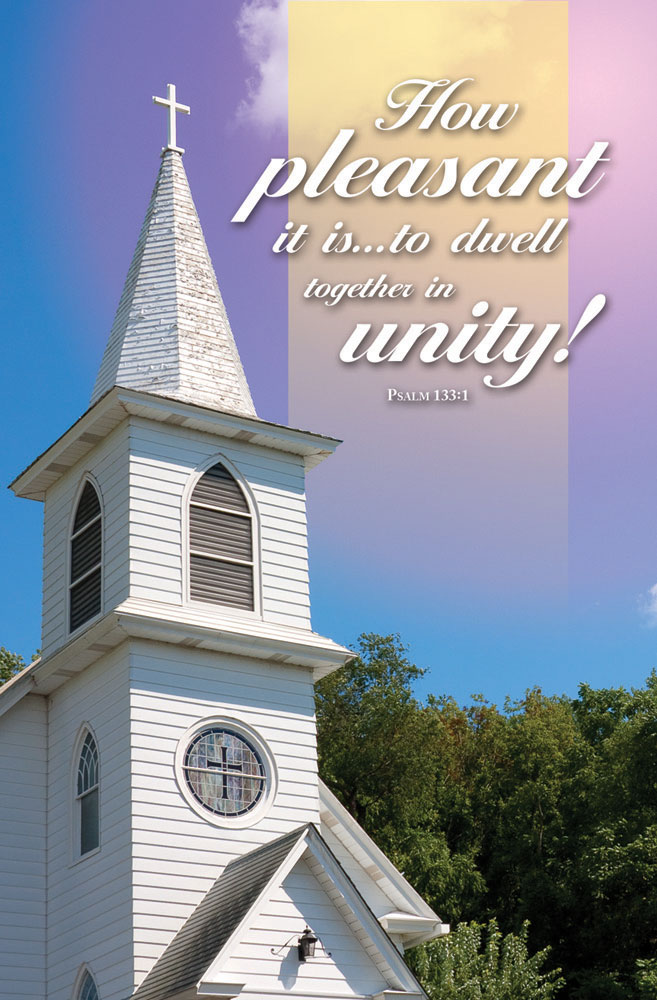 "Church Bulletin 11"" Special Occasion Unity Pack Of 100"
