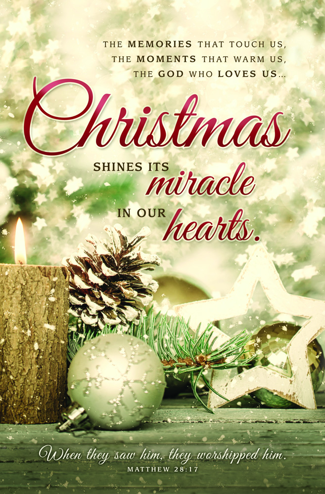 Church Bulletin 11  Christmas  Christmas Shines Pack