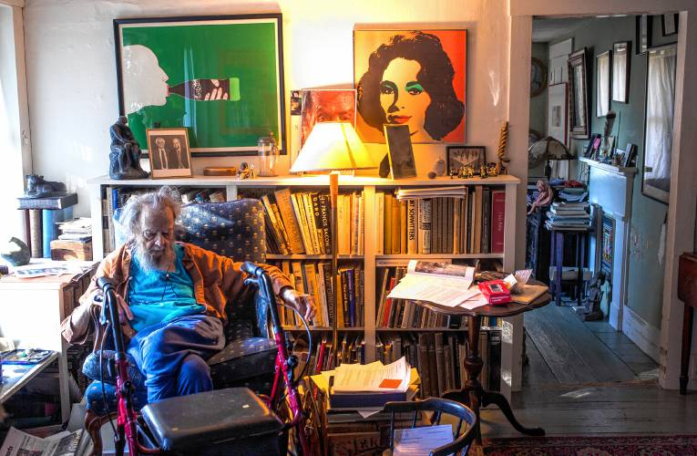 Donald Hall former US Poet Laureate reflects on