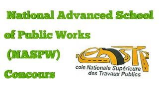 ENSTP Buea 2018-2019 concours year 1: NASPW Public works annex Buea