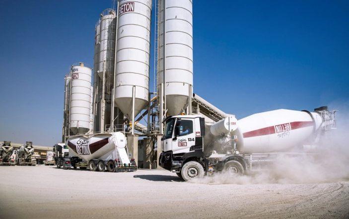 ready mix concrete process