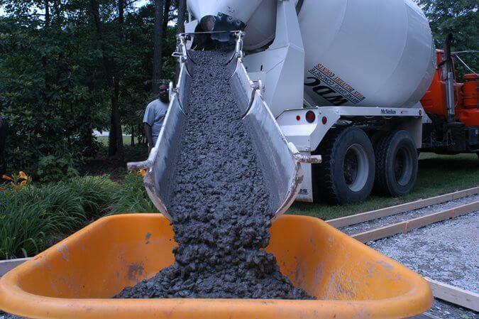 shrink mix concrete
