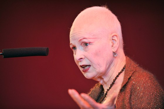 Vivienne Westwood and the firepower of protest