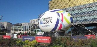 Rugby World Cup Celebrations. Photo: Roy Hughes, Geograph