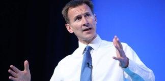 Jeremy Hunt. Photo: NHS Confederation, Flickr