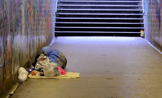 Homeless in Norwich this Christmas