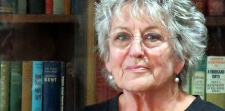 Germaine Greer, whose views have lead to calls for her to be banned from some universities Photo: Wikimedia, Helen Morgan