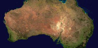 Australia by satellite. Photo: Wikimedia, Ghalas