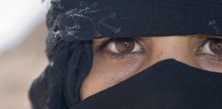 Muslim woman. Photo: David Dennis Photos