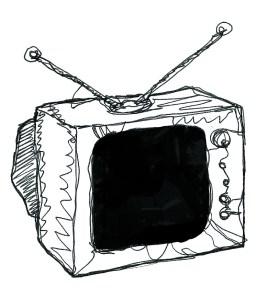 TV illustrated by Niamh Jones