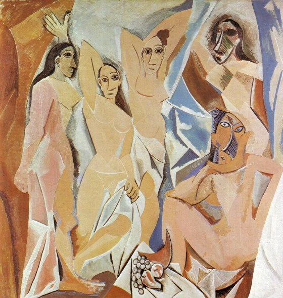Through the lenses of Picasso's 'Les Demoiselles D'avignon'