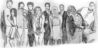 Parks and Rec, Illustrated by Lucinda Swain