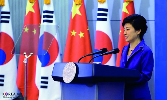 South Korean president faces financial corruption allegations