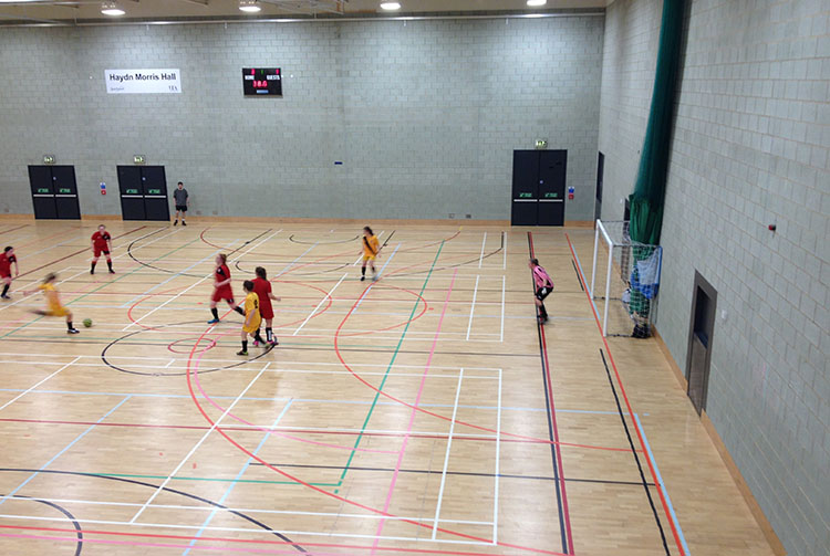 Women's Futsal, James Chesson
