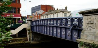 Foundry Bridge, Norwich. Photo: Peter Trimming