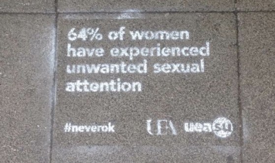 Joint anti-sexual harassment campaign