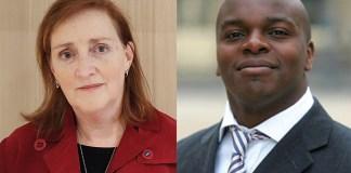 Left: KensingtonChelsea2017, WikiCommons Right: Politico1234, WikiCommons