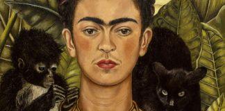 frida kahlo by libby rosof on flickr