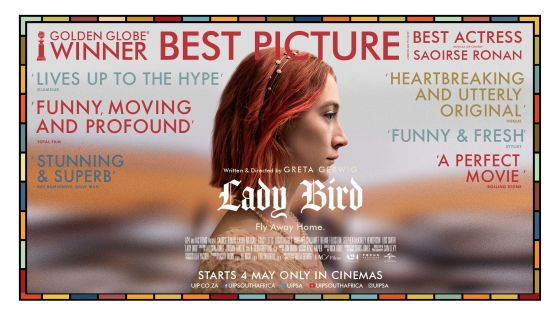 """Lady Bird """"bursts with charm"""""""