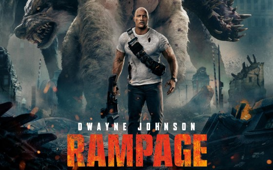 Rampage is a tonic to the current blockbuster