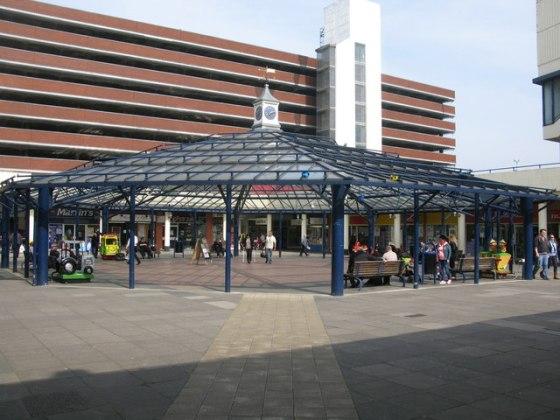 Police cordon Anglia Square after gunman reports